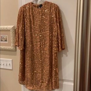 NWT River Island sequin mini dress